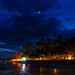 Alona Tropical Beach Resort Panglao Bohol at Night by mojojojoh