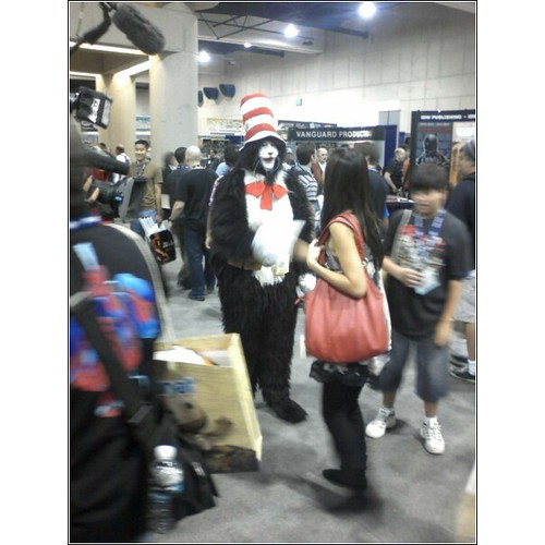 Scary Cat in the Hat | This guy was talking like the Joker ...