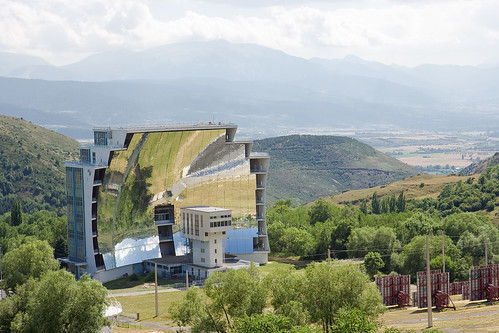 Solar Furnace at Odeillo Font-Romeu, France