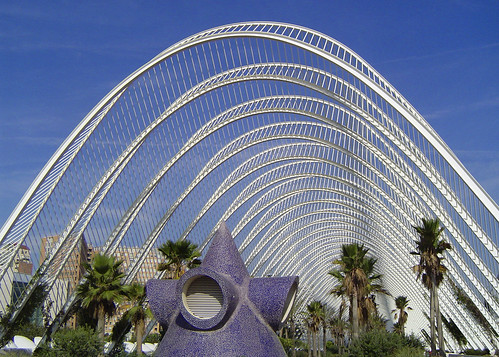 Alameda, City of the Arts and the Sciences of Valencia, Spain
