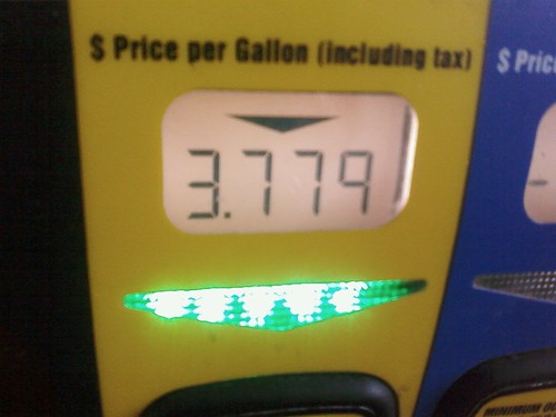 #gas is $3.77/gal in Mt View, WY