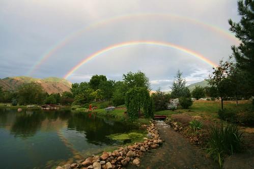 utah rainbow springville supernumerary potofgold naturesfinest colorphotoaward aplusphoto discoveryphoto