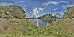 LochInsh: Island Loch Insh Scotland Equirectangular