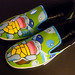 Painted squirtle shoes by pipa978