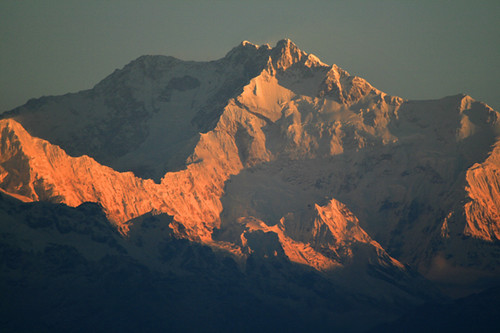 Kanchanjangga_world 3rd highest  peak