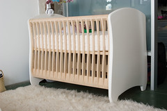 bed frame, furniture, room, infant bed, bed, nursery, baby products,