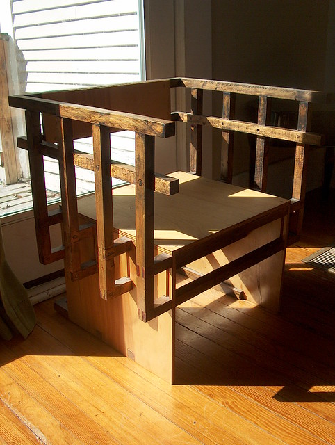 Trellis Chair - Front