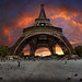 Eiffel tower, Paris, France.  Tourist, photographer, if you go, once to this great place, remember this picture by Gaston Batistini