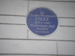 Photo of Charles Dilke blue plaque