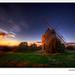 Windmill of St Julien le Montagnier #2 (France) by Eric Rousset
