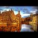 Bruges Brugge by genevieve van doren