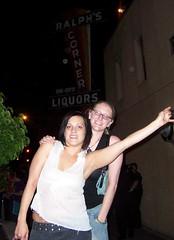 Lara and Lisa at Ralph's Corner Bar