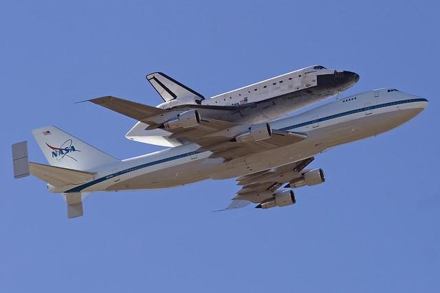 Space Shuttle Flyover |Space Shuttle Flyover