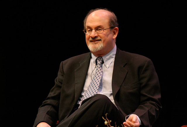 Salman Rushdie at the Asia Society