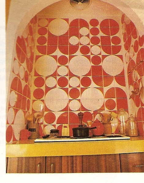 The Funky 70s Kitchen Cooktop.
