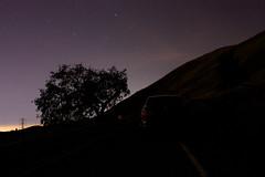 Nighttime Hillside