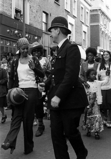 The Laughing Policeman - Notting Hill Carnival 1970's