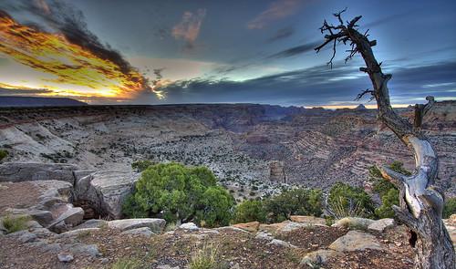 sunrise landscape utah desert canyon sanrafaelswell thewedge
