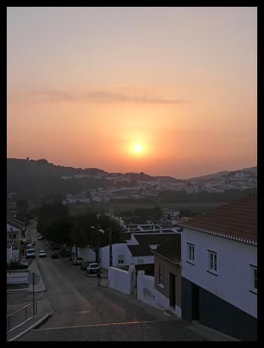 sunset portugal algarve aljezur