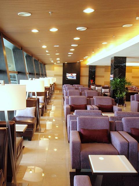 new thai /Star Alliance Gold Lounge @ KUL
