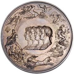 Waterloo Medal Obverse