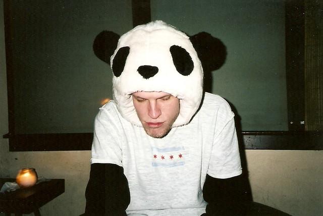 panda hat!
