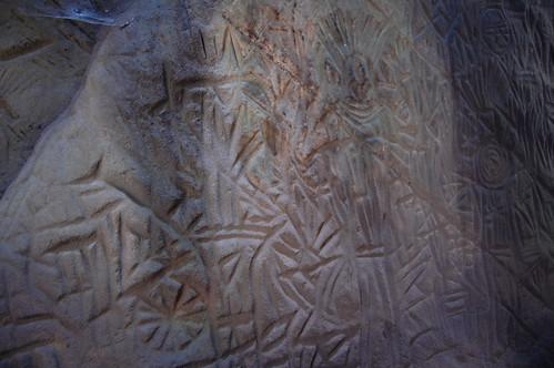 edakkal caves - neolithic engravings