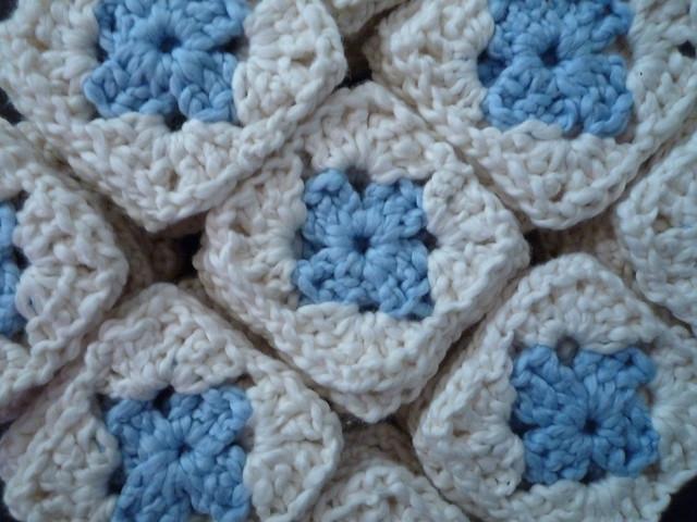 Crocheted Wool-Eater Blanket