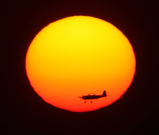 Just a plain sunset