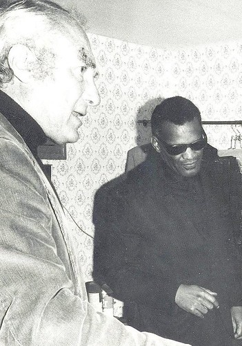 Ray Charles, in Madrid, 1973.