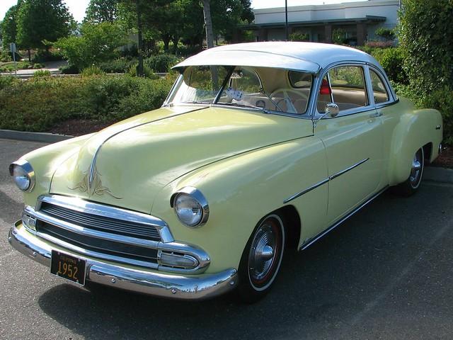 1952 chevrolet 2 door with 1951 grille custom 39 5gvg267 for 1952 chevy 4 door