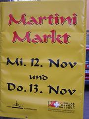 Schaffhausen Markt Sign
