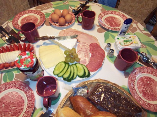gutes Frühstück - A Good German Breakfast - Glorious Life and Food - in  Photos