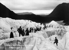Francis Joseph Glacier, 1906 by National Library NZ on The Commons