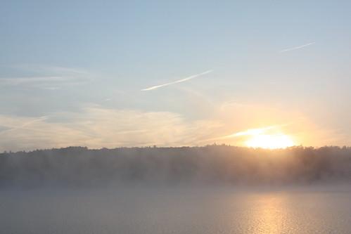 sunrise maine embden northnewportland hancockpond