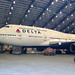 Delta Boeing 747-400 Unveil