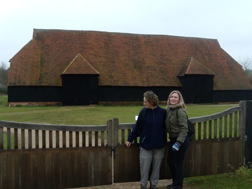 Nice view of the oldest barn in Europe