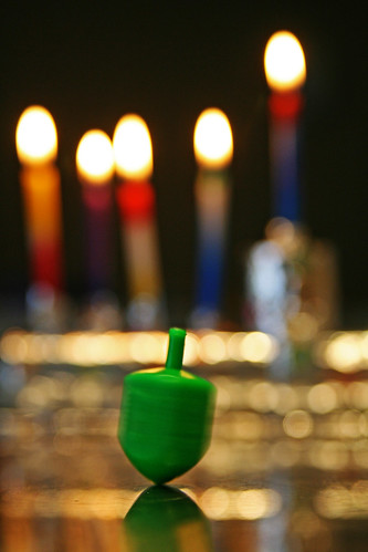 24th December - spinning dreidel