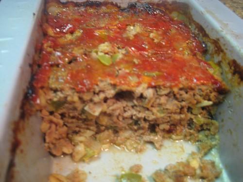 Meatloaf with Barley