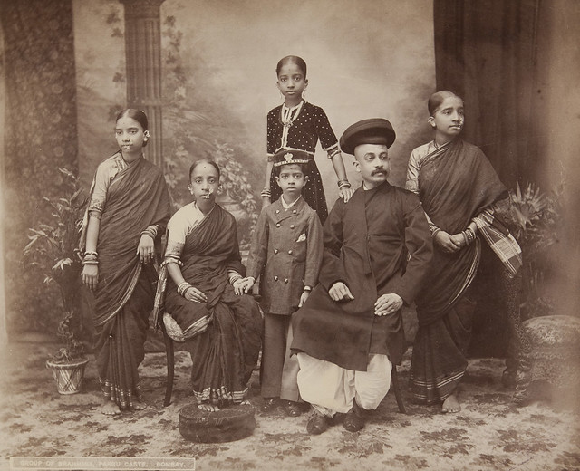 Bombay, Group of Brahmins, Parbu Caste