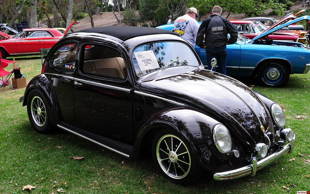 1951 volkswagen split window beetle bordeaux red fvr for 1951 volkswagen split window