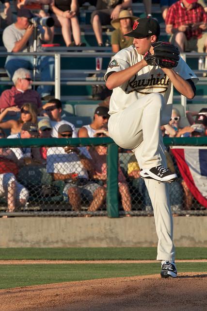 Tyler Skaggs (Visalia) Cal League starting pitcher