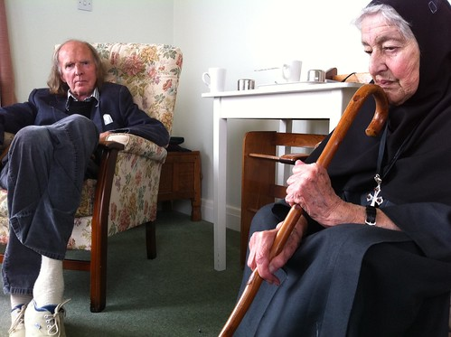 Mother Thekla and John Tavener, 2011
