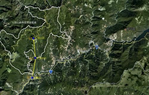雪谷線空纜路線規劃示意圖。(圖片來源:台中市政府)