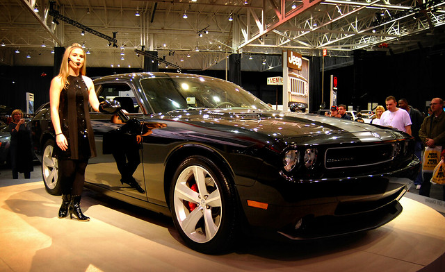 2009 Dodge Challenger At The Cleveland Auto Show Flickr