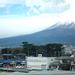 mount fuji from the shinkansen by antimega