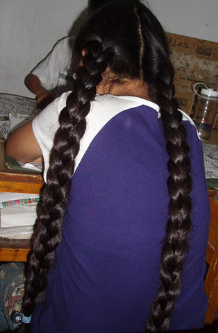 Two Thick Braids Chotlo Flickr