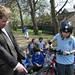 Kevin Brennan MP visits St Cats55
