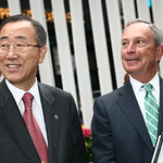 Ban Ki-moon, Michael Bloomberg