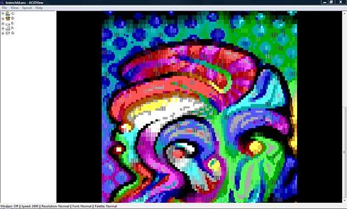 ANSIART - AcidView